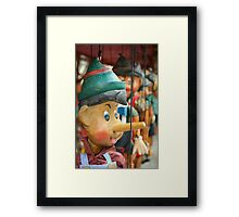 The smile of a child Framed Print