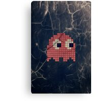 Pac-Man Pink Ghost Canvas Print