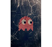 Pac-Man Pink Ghost Photographic Print