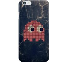 Pac-Man Pink Ghost iPhone Case/Skin