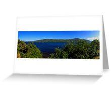 Loch Ness Panoramic Greeting Card