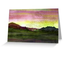 Home To Roost  II Greeting Card