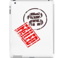 Quality control failure iPad Case/Skin