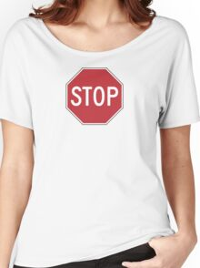 Stop Women's Relaxed Fit T-Shirt