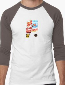 Super Mario Bros box Men's Baseball ¾ T-Shirt