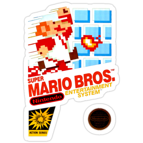 Super Mario Bros box by alxlajoie