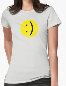 Smiley 2 Womens Fitted T-Shirt