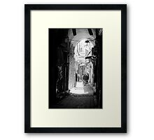 Streets Of Syria Framed Print