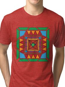 (Shapes) Tribal Hipster Tri-blend T-Shirt