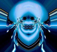 Rhapsody in blue by Wieslaw Jan Syposz