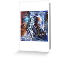 Heisenberg - No looking back for Walter White Greeting Card