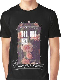 tardis flower  Graphic T-Shirt