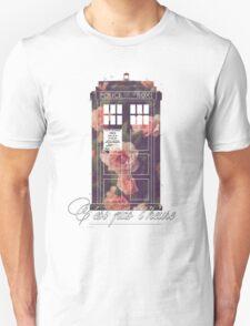 tardis flower  T-Shirt