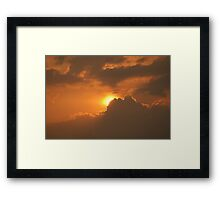 Cape clear Sunset Framed Print