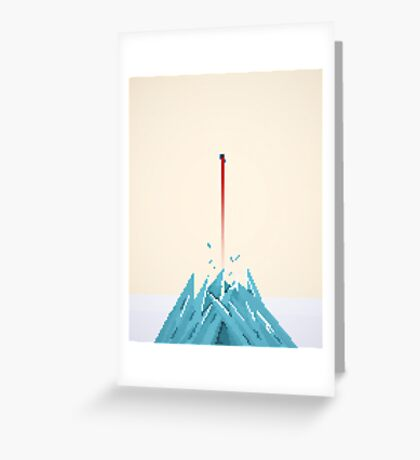 Fortress of Solitude Breakout Greeting Card