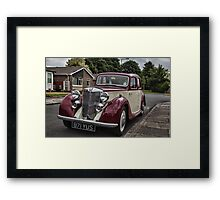 MG Y-type Saloon Framed Print