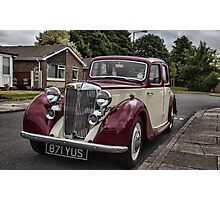 MG Y-type Saloon Photographic Print