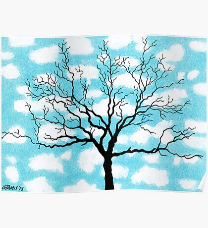 TREE IN THE CLOUDS Poster