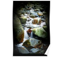 Water Stream in Hatton Poster