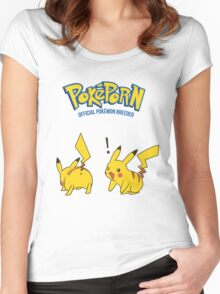 Poképorn-Official Pokémon Breeder Women's Fitted Scoop T-Shirt
