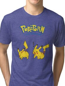 Poképorn-Official Pokémon Breeder Tri-blend T-Shirt