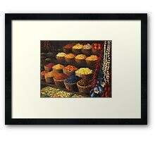 Palette of The Orient Framed Print