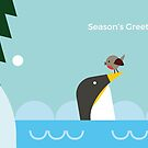 Christmas penguins by psygon