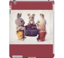 When We Travel, We Only Take What We Need iPad Case/Skin