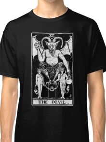 The Devil Tarot Card - Major Arcana - fortune telling - occult Classic T-Shirt
