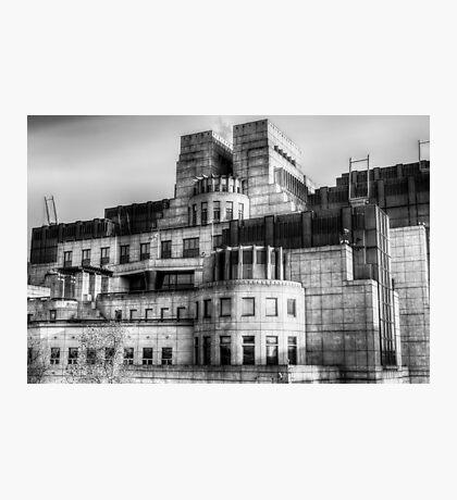 The SIS Secret Service Building London Photographic Print