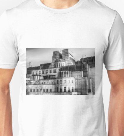The SIS Secret Service Building London Unisex T-Shirt