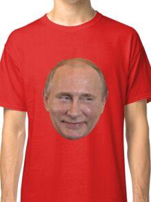 Vladimir Putin Face. Classic T-Shirt