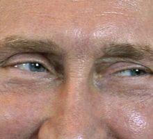Vladimir Putin Face. Sticker