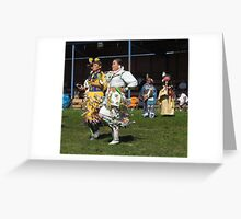 Jingle Dress dancers Greeting Card