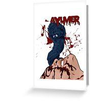 Aylmer - Brain Damage Greeting Card