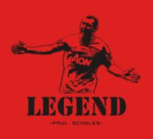 paul scholes by seanlar94