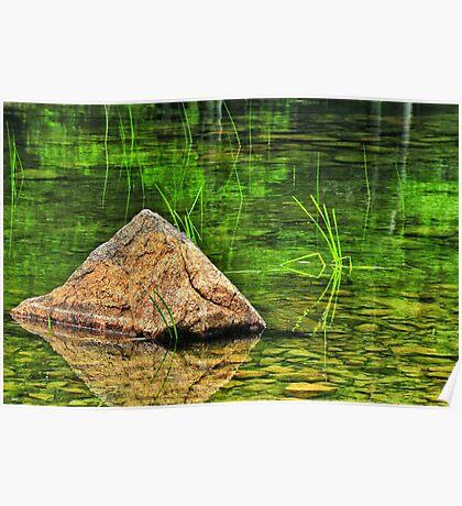 Jordan Pond, Acadia National Park, Maine, USS Poster