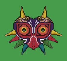 Majora's mask Pxl8 by Krs  Props