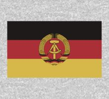 East Germany Flag by cadellin