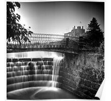 Ripley Castle Waterfall Poster