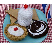 Woollen cakes!! Photographic Print