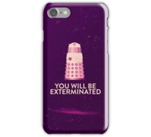 Dalek's revenge iPhone Case/Skin
