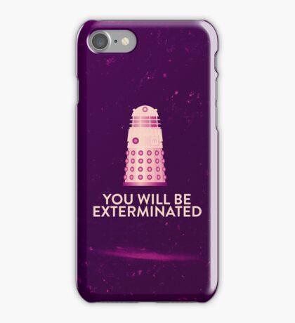 Dalek's revenge iPhone Case/Skin