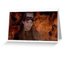 Wayne's Hell Greeting Card