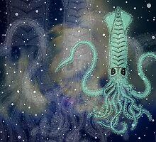 the space squid (óbu) by peter barreda