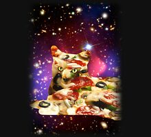 Pizza Cat in Space Shirt Unisex T-Shirt