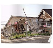 Remains of Hurricane Sandy Poster