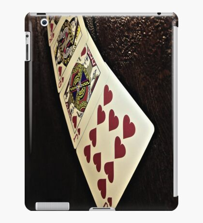 Cards of Hearts iPad Case/Skin