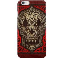 the skull of odjáguo iPhone Case/Skin