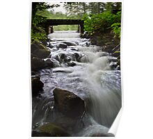 Water Over the Spillway Poster